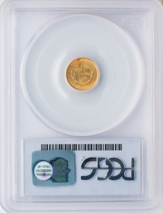 $1 Gold Type 1 Certified MS64 CAC
