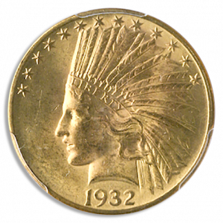 $10 Indian Certified MS61