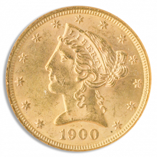 $5 Liberty Certified MS62