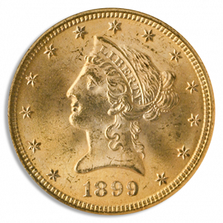 $20 Liberty Certified MS61