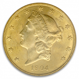 $20 Liberty MS64 Certified