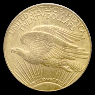 $20 Saint Gaudens MS63 Certified
