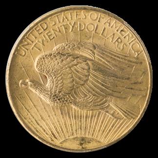 $20 Saint Gaudens N/M Certified MS65