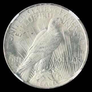 PEACE $ CERTIFIED MS65