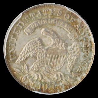 1831 CAP BUST DIME SM PCGS