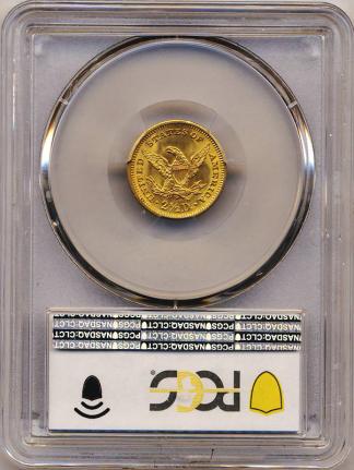 1907 $2.50 Liberty PCGS MS65 CAC