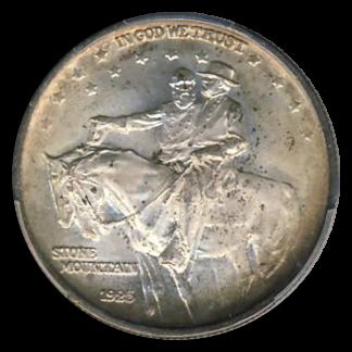 1925 Stone Mountain Silver Commemorative PCGS MS67 CAC
