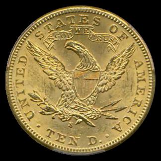 1899-S $10 Liberty PCGS MS63 CAC