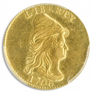 1796 $2 1/2 Draped Bust No Star PCGS AU55