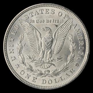 1921 $1 Morgan Dollar BU