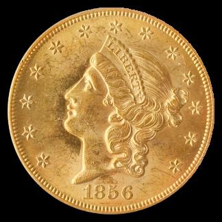 $20 LIB 1856-S SSCA FSBA P