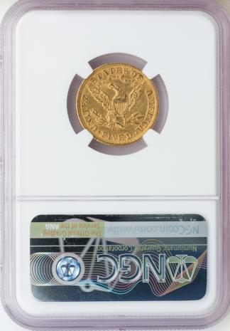 1893-O $5 Liberty NGC MS61 CAC