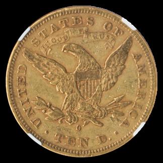 1879-O $10 Liberty NGC XF45 CAC +