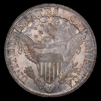 1799/8 Draped Bust $1 PCGS F12 CAC